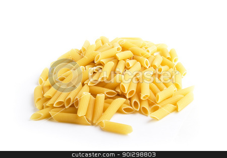 Penne Rigate stock photo, Penne Rigate pasta by Tyler Olson