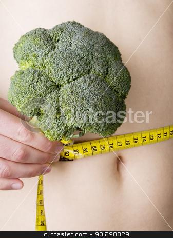 Waist Measure stock photo, Measuring the waist by Tyler Olson