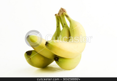 Banana stock photo, Group of bananas by Tyler Olson