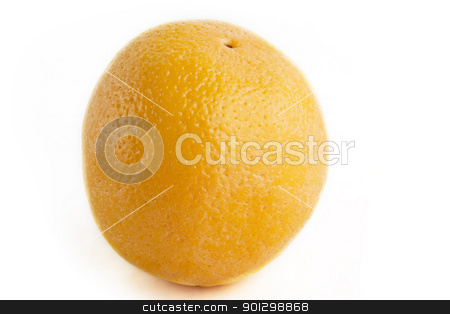 Isolated orange stock photo, An orange on a white background by Tyler Olson