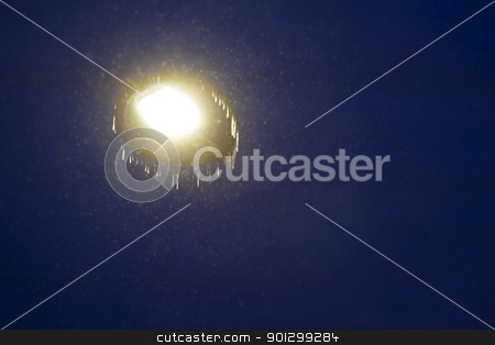 Abstract Light stock photo, A 'ufo' at night abstract motion blur image. by Tyler Olson