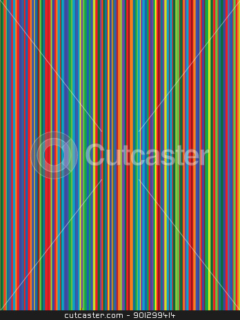 Multicolor Background stock photo, A vector image of bright pinstripes. by Tyler Olson