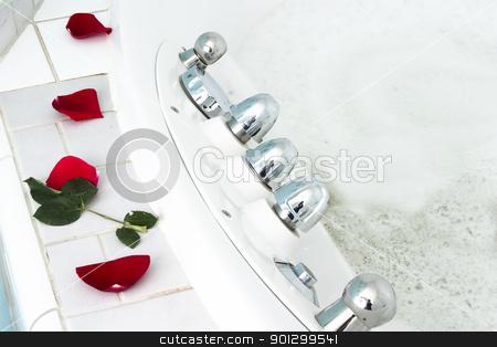 Spa Bath stock photo, A spa jet tub cure bath. by Tyler Olson