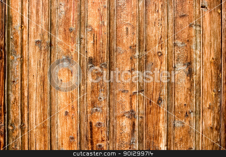 Old Wood Background stock photo, Old pine panelling that has been 'cured' by the sun in Norway by Tyler Olson