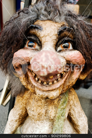 Happy Troll stock photo, A happy troll looking at the camera by Tyler Olson