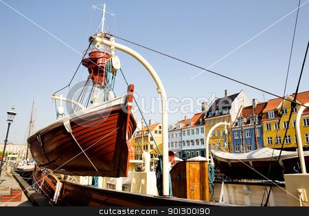 Copenhagen Detail stock photo, Docks in copenhagen on a warm summer day by Tyler Olson