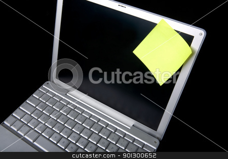 Remember stock photo, A sticky note on a laptop computer - remember this by Tyler Olson