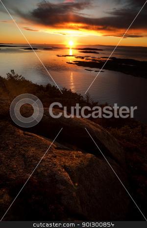 Ocean Landscape stock photo, Coastal Landsacpe on the very outside of the Oslo Fjord near Fredrikstad, Norway. by Tyler Olson