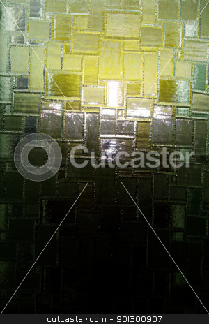 Abstract Glass Window Texture stock photo, Glass window texture - a hatched pattern by Tyler Olson