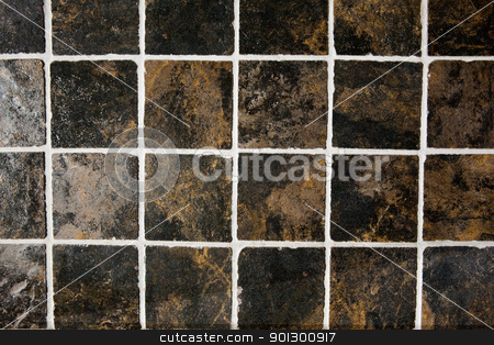 Tile Texture stock photo, A very detailed image of a tile background by Tyler Olson