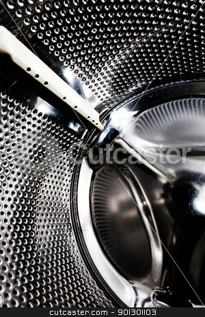 Washing Machine background stock photo, Background abstract of a washing machine interior by Tyler Olson