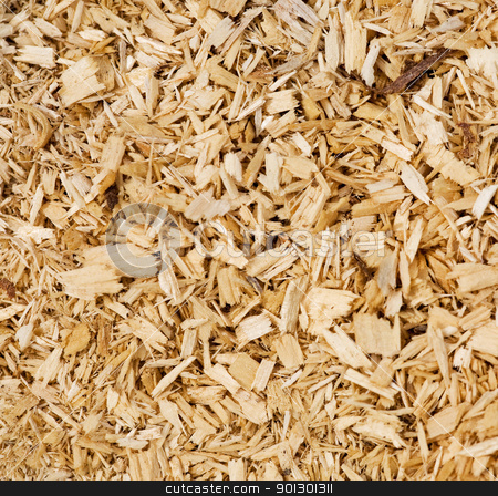 Woodchip Background stock photo, An abstract woodchip background by Tyler Olson
