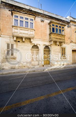 Malta Street stock photo, quaint street in Malta by Tyler Olson