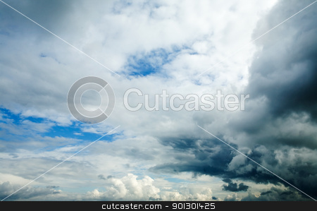 Cloud Background stock photo, A dramatic stormy cloud background - cloudscape by Tyler Olson