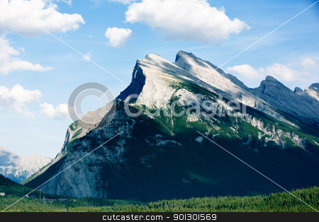 Rocky Mountain stock photo, Landscape of the Canadian Rocky Mountains by Tyler Olson