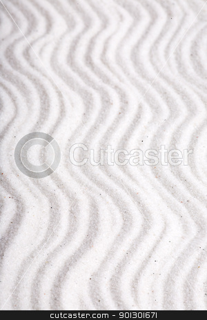 Macro Sand Texture stock photo, Background macro texture of rippled sand by Tyler Olson
