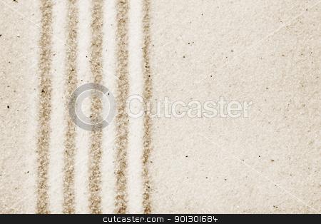 Sand Pattern Background stock photo, Sand background image - Japanese zen style art by Tyler Olson