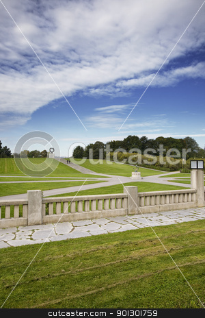 Vigelands Park Oslo Norway stock photo, Vigelandsparken located in Oslo Norway by Tyler Olson