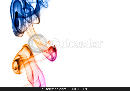 Smoke Background stock photo, A black and white smoke background by Tyler Olson