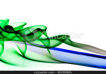 Abstract Flow stock photo, An abstract flow background blue and pink by Tyler Olson
