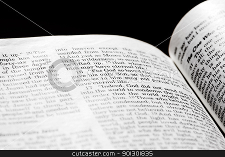 John 3:16 stock photo, John 3:16 in the Christian Bible, For God so loved the world... by Tyler Olson