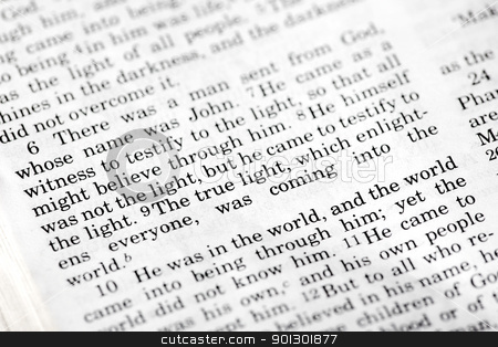 John 1:9 stock photo, John 1:9, a popular Bible verse from the New Testament by Tyler Olson