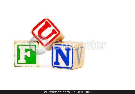 Fun stock photo, The word fun with childrens wooden blocks by Tyler Olson