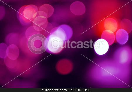 Bokeh Background stock photo, Beautiful background with bokeh city life in shallow depth by HypnoCreative