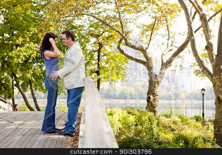 Park Couple Love stock photo, A couple in love in the park by Tyler Olson