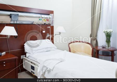 Hospital room stock photo, Neat and tidy hospital room by Tyler Olson