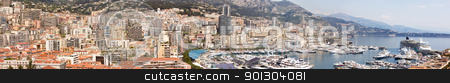 Monaco, Monte Carlo stock photo, A high resolution panorama of Monaco, Monte Carlo by Tyler Olson