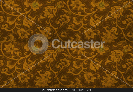 Seamless backgorund: retro floral texture stock photo, Seamless background. It means you can repeat as many times as you want, no visible edges. 
