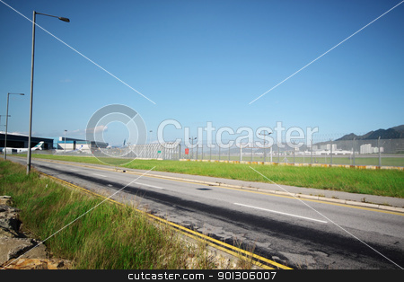 Long road stock photo, Long road stretching out into the distance by Keng po Leung