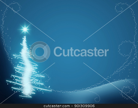 Merry christmas greeting card. Christmas concept  stock photo, Merry Christmas greeting card  by dacasdo