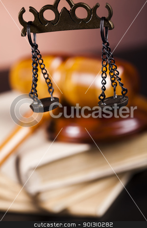 Judge gavel stock photo, Law and justice concept in studio. by Sebastian Duda