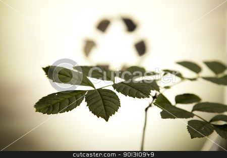 Recycling plant stock photo, Recycling plant, ecology background. by Sebastian Duda