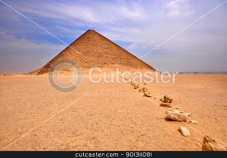 Red Pyramid , Dashur , Egypt stock photo, The Red Pyramid , in Dashur , Egypt, also known as Memphis by ruigsantos