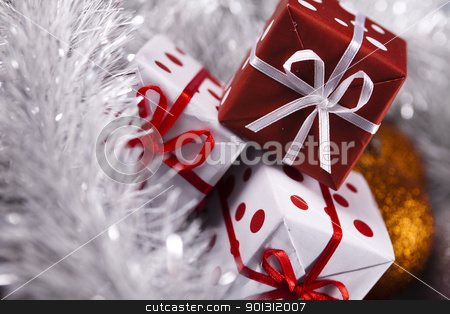 Christmas gifts stock photo,  by Sebastian Duda