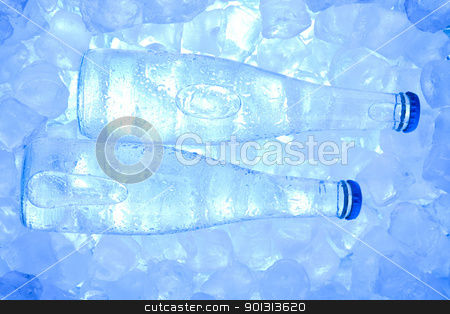 Ice water stock photo, Water is the most important element for all lives on the Earth. by Sebastian Duda