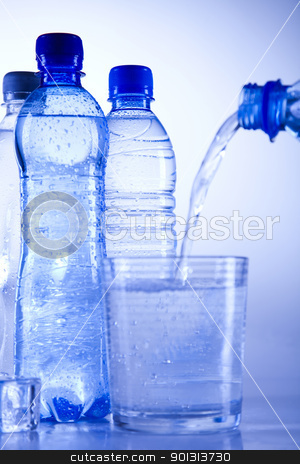 Water drink stock photo, Water is the most important element for all lives on the Earth. by Sebastian Duda