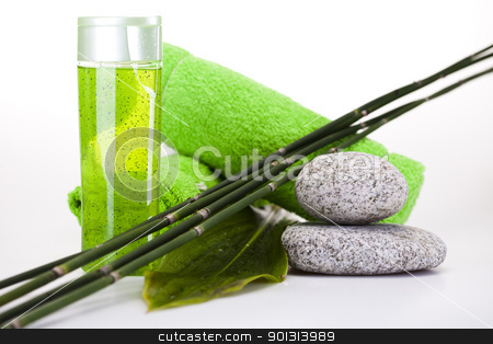 Bodycare products, spa stock photo, Wellness and spa concept. by Sebastian Duda