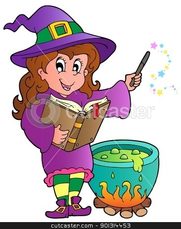 Halloween character image 2 stock vector clipart, Halloween character image 2 - vector illustration. by Klara Viskova