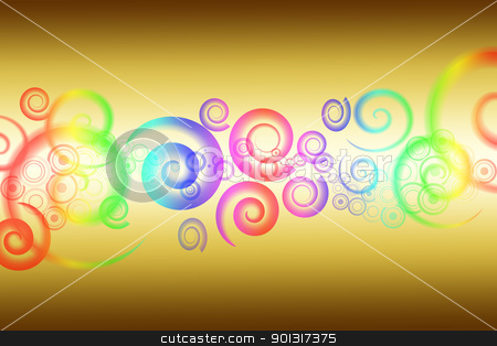 Abstract background stock vector clipart, Beautiful and colorful abstract background by Ingvar Bjork
