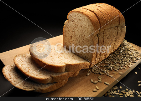 Bread stock photo, Delicious sandwich by johnny26