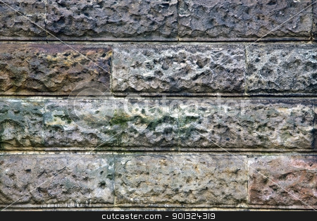 Old brick wall stock photo, Old brick wall by Ingvar Bjork