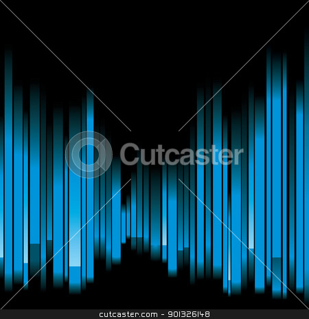 blue abstract background stock photo, blue abstract background - vector illustration by Ilyes Laszlo