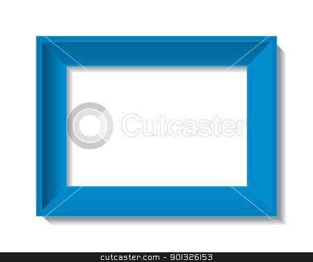 empty photo frame stock photo, empty photo frame - vector illustration by Ilyes Laszlo
