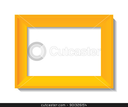 empty photo frame stock photo, empty photo frame - vector illustration by ojal_2