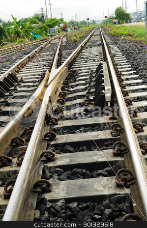 railway  stock photo, railway by kowit sitthi