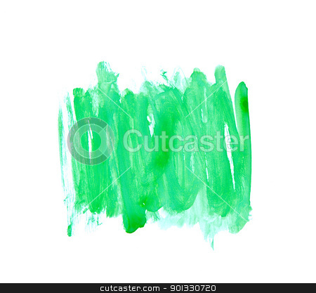 Green Water Color Paint Texture stock photo, Green Water Color Paint Texture  by Evgeniy Krivoruchko